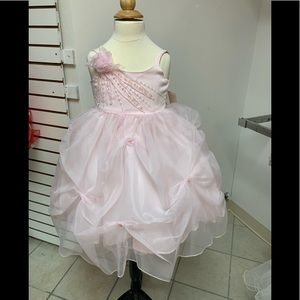2 Easter Pageant Flower girl Party Dress NWT